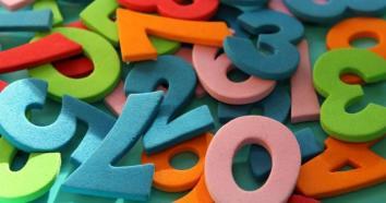 Pisanje števil z besedo