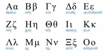 Grške črke