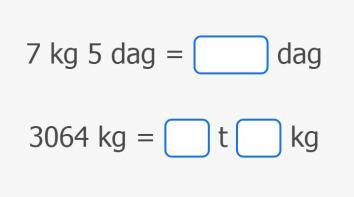 Pretvaranje mjernih jedinica mase
