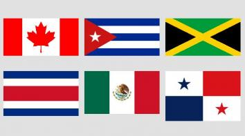 Image Flags of North America and Caribbean quiz