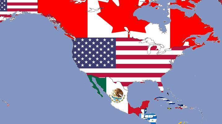Zastave severno in srednje ameriških držav