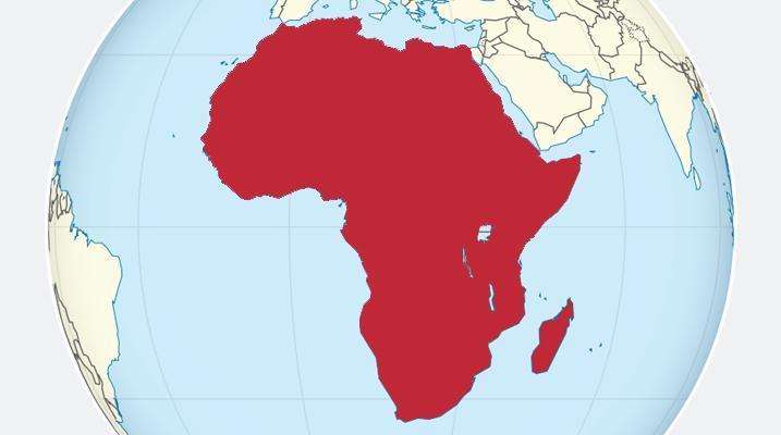Afriške države po velikosti