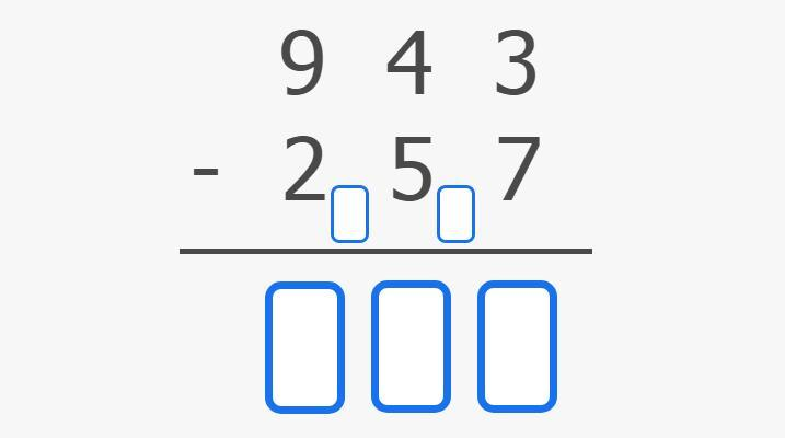 Image Subtraction with regrouping