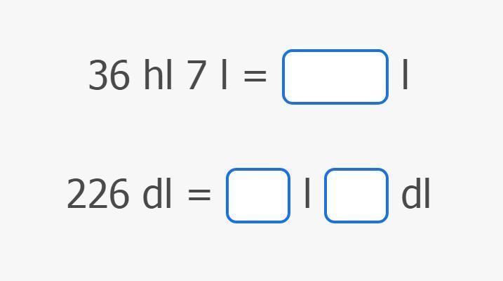 Slika Pretvaranje mjernih jedinica za volumen