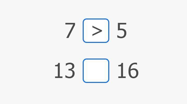 Slika Uspoređivanje brojeva