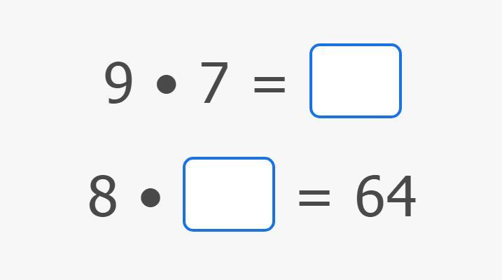 Multiply by 7, 8 and 9