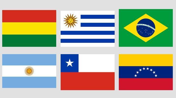 Slika Zastave Južne Amerike