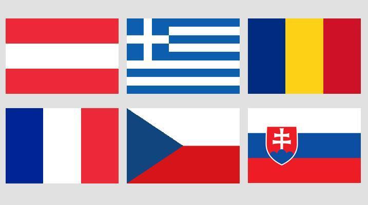 Flags of Europe quiz