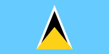 Zastava Svete Lucije