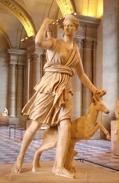 Greek goddess of the hunt Artemis