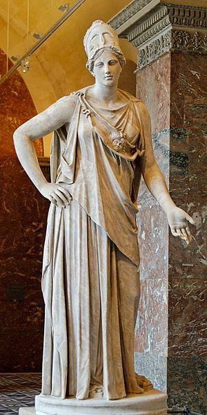 Greek goddess of wisdom and intelligence Athena
