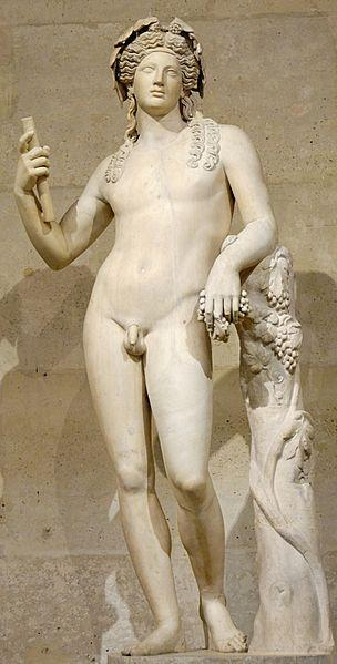 Greek god of wine and parties Dionysus