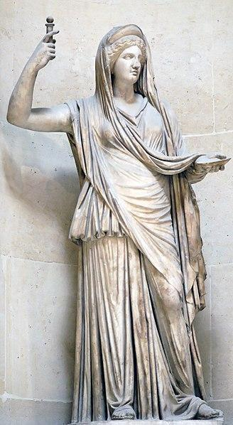 Greek goddess of women and childbirth Hera